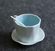 Винтаж Стаканы, 150 ml Переносной Керамика Телесный Молоко Кофейные чашки Чашки для путешествий