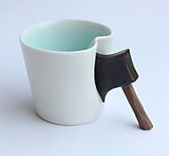 Оригинальные Стаканы, 350 ml Переносной Керамика Телесный Молоко Кофейные чашки Чашки для путешествий