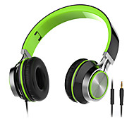 SF-015 Headphones (Headband)ForMedia Player/Tablet Mobile Phone ComputerWithWith Microphone DJ Volume Control FM Radio Gaming Sports
