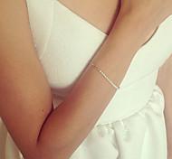 Chain Bracelet Pearl Alloy Bohemian Handmade Movie Jewelry Star Gold Jewelry 1pc
