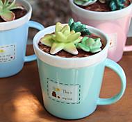 Оригинальные Стаканы, 275 ml Переносной Керамика Телесный Молоко Кофейные чашки Чашки для путешествий