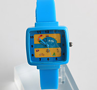 Fashion Watch Quartz / Silicone Band Casual Blue Grey Pink Brand