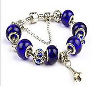 Chain Bracelet Crystal Natural Fashion Jewelry Dark Blue Jewelry 1pc
