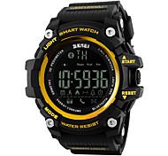 SKMEI Herren Damen Sportuhr Smart Uhr Armbanduhr digital LCD Fernbedienung Kalender Wasserdicht Alarm Schrittzähler Stopuhr Caucho Band