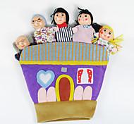 Пальцевая кукла Игрушки Животные Новинки 1 Куски