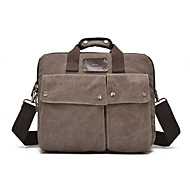 Unisex Canvas Formal Casual Outdoor Office & Career Professioanl Use Laptop Bag