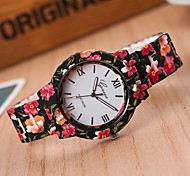 Unisex Fashion Watch Quartz Alloy Band Blue Red