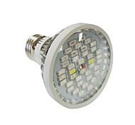 15W E27 LED Grow Lights 40 SMD 5730 800-1200 lm Warm White UV (Blacklight) Red Blue AC85-265 V 1 pcs
