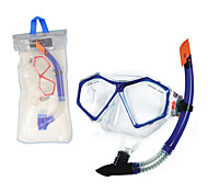 Swimming Goggles NO TOOLS Required Swimming Diving / Snorkeling PVC Blue