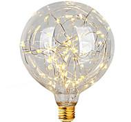 2w e26 / e27 светодиодные лампы накаливания g95 47 интегрированный светодиод 300 лм теплый белый декоративный AC 220-240 v 1 шт.