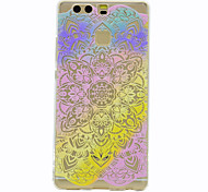 For Huawei Mate 9 P9 Lace Printing Pattern Soft TPU Material Phone Case for  P9 Lite Honor 5C
