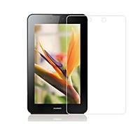 5 PC para el mediapad t1 del huawei 7.0 película protectora de la seguridad del protector de la pantalla del hd en la tableta t1-701u