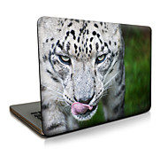 Para macbook air 11 13 / pro13 15 / pro con retina13 15 / macbook12 un tigre enojado descrito apple laptop case