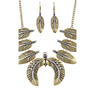 Fashion Earrings Set Necklace