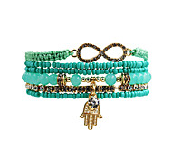 Fashion Women  Multi Rows Rhinestone  Crystal Bracelet