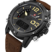 NAVIFORCE Мужской Спортивные часы Армейские часы Нарядные часы Модные часы Наручные часы Часы-браслет Уникальный творческий часыЦифровой