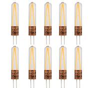 2W G4 LED Doppel-Pin Leuchten T 2 COB 170 lm Warmes Weiß Kühles Weiß Dekorativ AC220 V 10 Stück