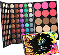 95 Color 2in1 Pro Eye Shadow Eyeshadow&Blush Contour Palette Dry Matte&Glitter Smoky&Colorful Eyeshadow Powder Daily Party Makeup Cosmetic Palette Set