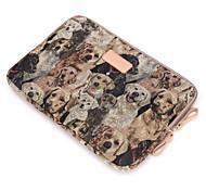 para el tacto bar macbook pro 13.3 / 15.4 macbook aire 11.6 / 13.3 macbook pro 13.3 / 15.4 perro lindo diseño patrón de la bolsa manga del