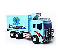 Construction Vehicle Pull Back Vehicles Toys Car Toys 1:12 Plastic Blue Model & Building Toy