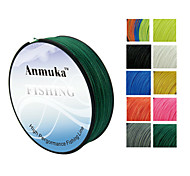 100M Anmnka Brand  Super Strong Japan Multifilament PE Braided Fishing Line 8 ~ 80LB