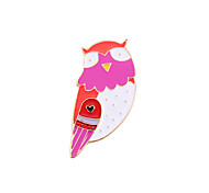 Fashion  Cute Owl  Enamel Brooch