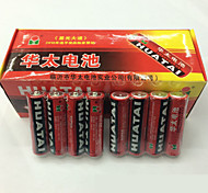 Huatai aa zinc batterie rechargeable 1.5v 40 pack