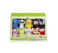 Мягкие игрушки Куклы Пальцевая кукла Игрушки Животный принт Детские 1 Куски