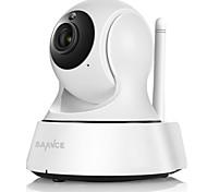 Sannce® caméra de surveillance sans fil mini ip caméra wifi 720p vision nocturne appareil photo caméra surveillance