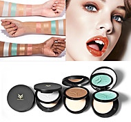 Powder Dry Pressed powder Moisture Concealer Natural Breathable Brightening Face