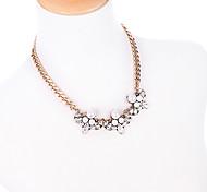Per donna Collane a catena Personalizzato stile sveglio Bianco Gioielli Per 1 pezzo