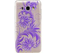For Samsung Galaxy J7 2017 J5 2016  IMD Transparent Case Back Cover Case Phoenix Flower Soft TPU for J5 2017 J3 2017 J710 J310 J3 J5 J1 2016 J1