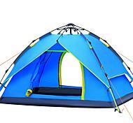 3-4 человека Световой тент Двойная Палатка Однокомнатная Автоматический тент С защитой от ветра Ультрафиолетовая устойчивость