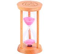 Маленький песочные часы маятник обратный отсчет 1/3 / 5 минут время мини стекло деревянный подарок