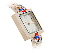 Women's Fashion Watch Chinese Quartz Alloy Band Rose Gold