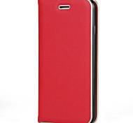 Для apple iphone 7 7 plus 6s 6 plus se 5s 5 чехол для корпуса сплошной цвет pu кожа материал pc металлическая текстура рама сильная
