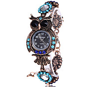 Vintage Quartz Watches Luxury Brand Owl Fashion Women Bracelet Watch Designer Watches Beautiful Girl Gift Watch