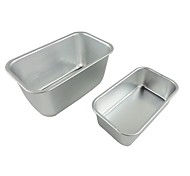 Two pieces /set Big size & medium size Toast cake pan non stick cake mould food grade carbon steel FDA