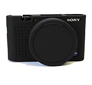 Etuis-Une épaule-Appareil photo numérique-Sony--Noir Incanardin Gris