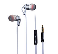 HYUNDAI HY-201MV Earphone for Mobile Phone 3.5mm In-Ear Wired With Microphone Volume Control