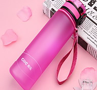 600ml Plastic Portable Motion Kettle Water Bottle