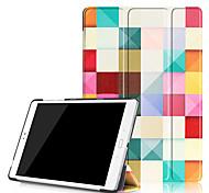 Cubierta del caso de la impresión para el zenpad del asus 3s 10 z500 z500m 9.7 tableta con la película protectora de la pantalla