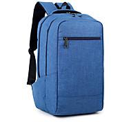 15,6-Zoll-ultra-leichte tragbare Computer-Rucksack koreanischen Stil Schultertasche wasserdicht reine Farbe Unisex
