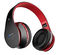 Classic Wireless Headset Bluetooth On-ear Headphones Stereo with Noise Cancelling and Microphone for IOS and Android Smartphones PC Laptop Mp3 / Mp4