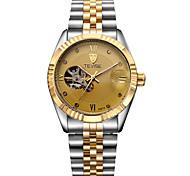 Tevise Men's Unisex Dress Watch Fashion Watch Mechanical Watch Automatic self-windingCalendar Water Resistant / Water Proof Luminous