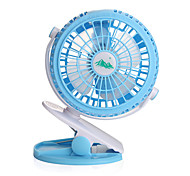 JIDIAN F198 Fan  USB Mini Charger Small Fan Portable Dormitory Table Desktop Large Wind Mute Fan