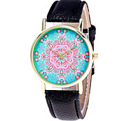 Ladies Fashion Flower Quartz Watch Women Leather Casual Dress Women's Watch Reloje Mujer Montre Femme