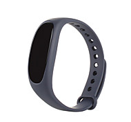 CARDMISHA K2 Smart Bracelet OLED DisplayTouch Screen Facebook or twitter Heart Rate Monitor remote photograph for Android IOS