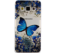 Для samsung galaxy a3 a5 (2017) крышка корпуса бабочка падение клей лак высокое качество тпу материал чехол для телефона a3 a5