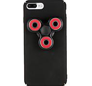 Para Case Tampa Spinners de mão Estampada Capa Traseira Capinha Desenho 3D Rígida PC para AppleiPhone 7 Plus iPhone 7 iPhone 6s Plus